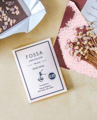 Fossa _Styled Sake Kasu Dark 75% (Limited Edition)