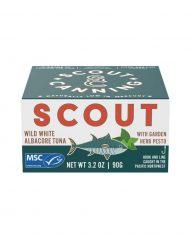 Scout Wild Albacore Tuna with Garden Herb Pesto