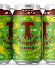 Taproot+Soda+Lemongrass+Ginger+Ale+Soda+Packaging